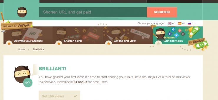 Trang chủ Shorte.st kiếm tiền bằng rút gọn link   www.goccuaphu.com
