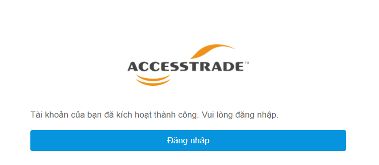 link đăng nhập tài khoản affiliate của accesstrade