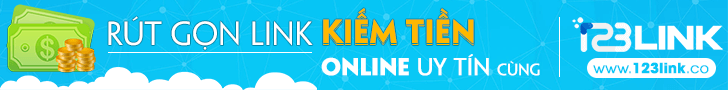 công cụ rút gọn link kiếm tiền 123link