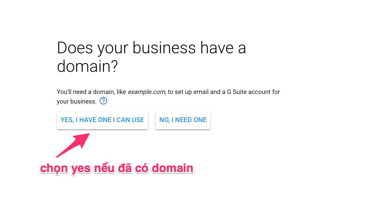bạn đã có tên miền cho doanh nghiệp chưa