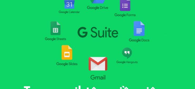 Huong dan Tao email ten mien rieng voi g suite cua google