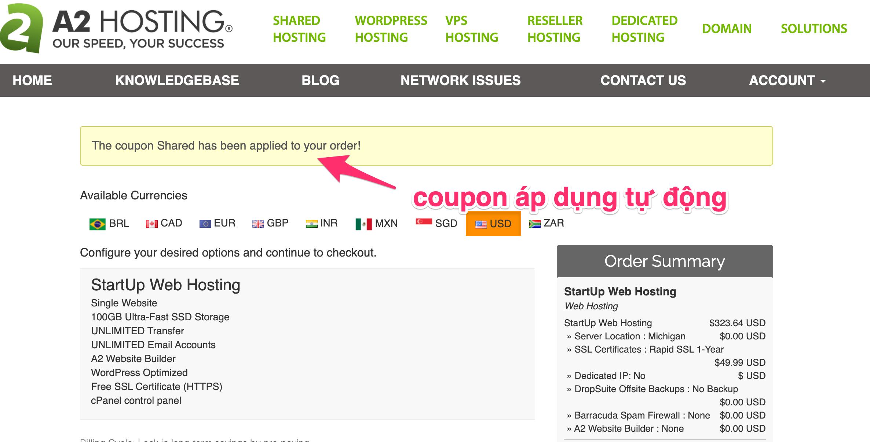 coupon a2 hosting goccuaphu.com