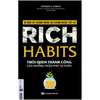 sách thói quen thành công của triệu phú tự thân