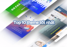 Top 10 theme wordpress tốt nhất 2019