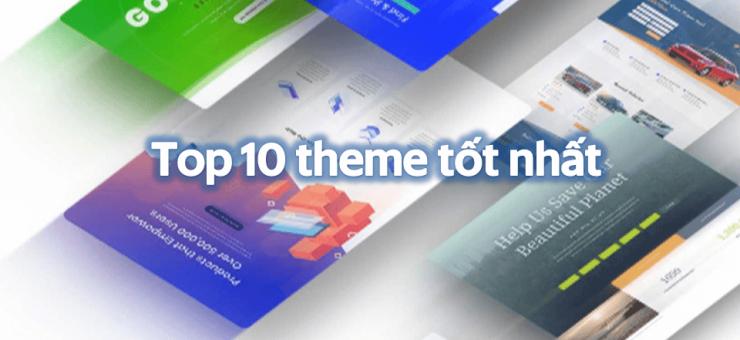 Top 10 theme wordpress tốt nhất 2019