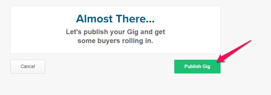 publish your gig