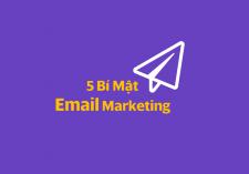 5 bí mật để thành công với email marketing