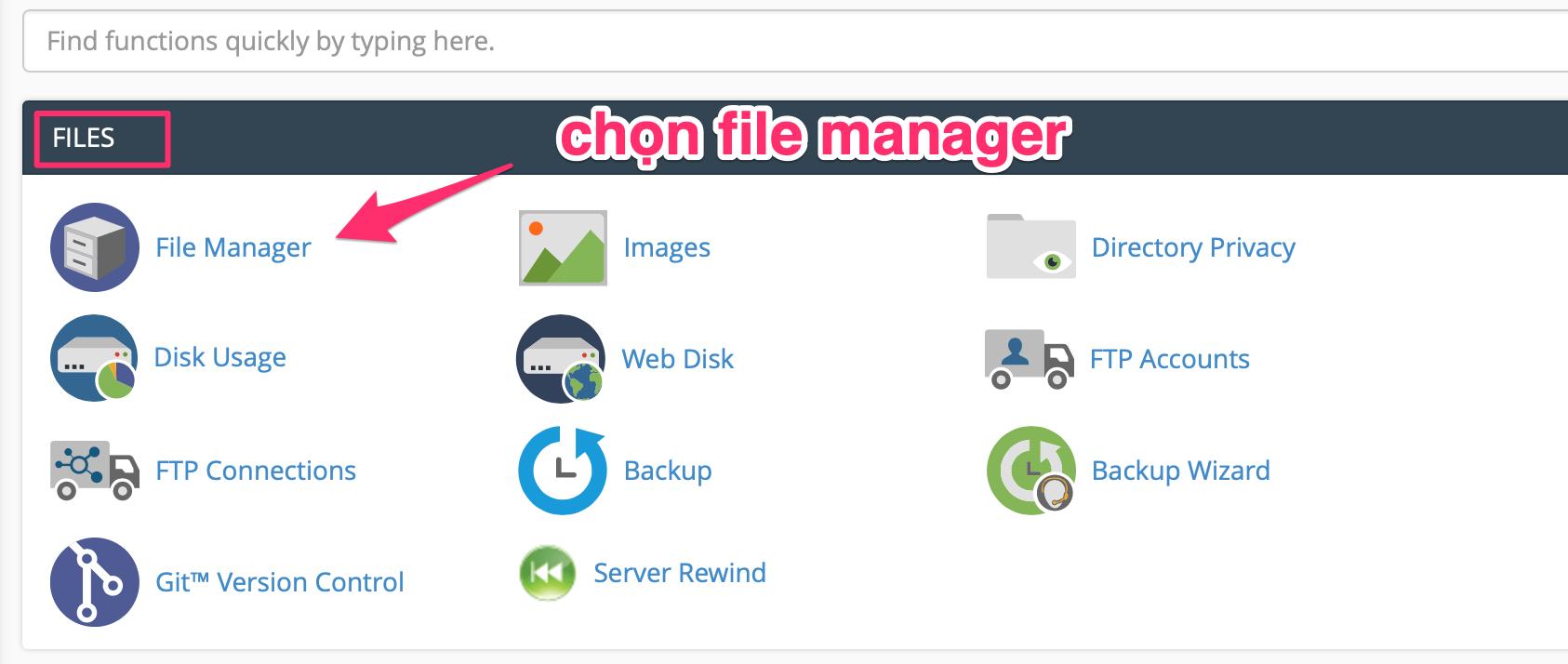 file manager tren hosting cua a2 hosting