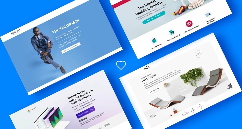 landing page cua chương trình tiếp thị liên kết