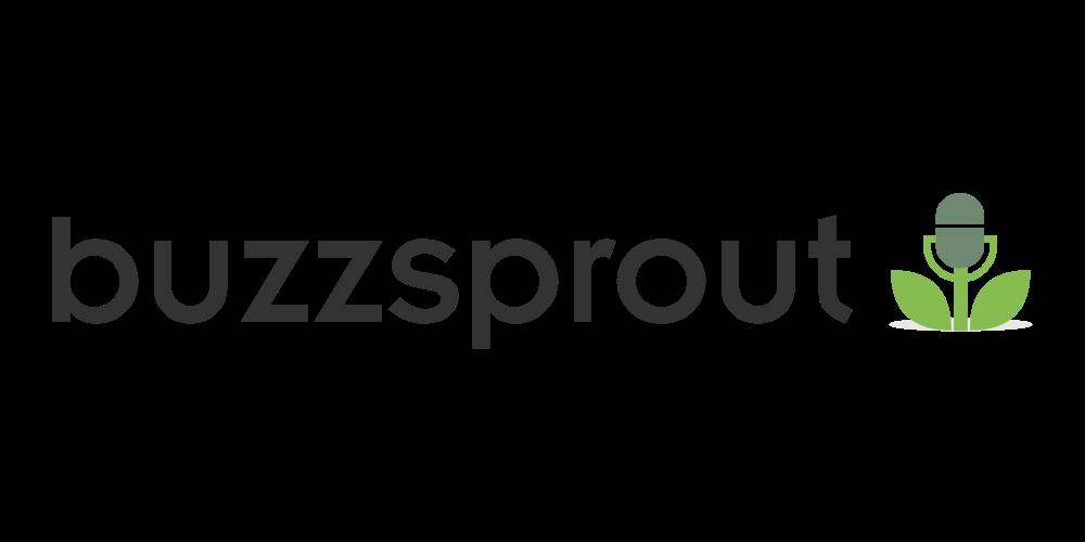 Buzzsprout logo cong cu phat trien kenh podcast