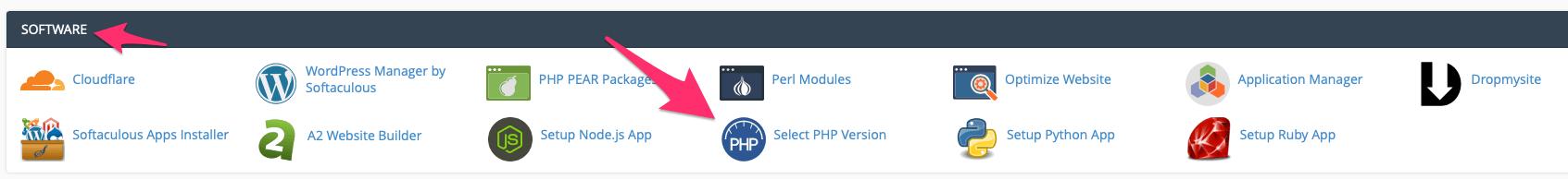 hướng dẫn cập nhật PHP mới